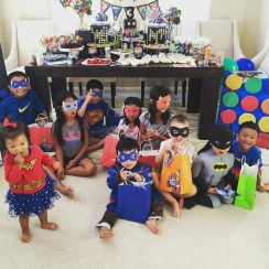 All the superheros